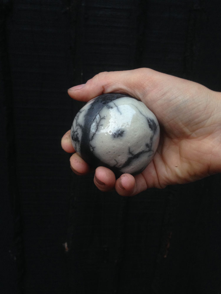 The space between us - Raku fired objects and a walk with the objects