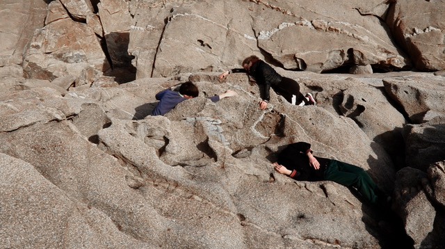 Fitness - A series of relief-prints made of found shoes at Isola del Giglio in the Mediterranean sea