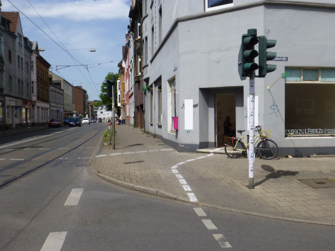 Question center - A two-week residency in the Bochumer Strasse (Gelsenkirchen)